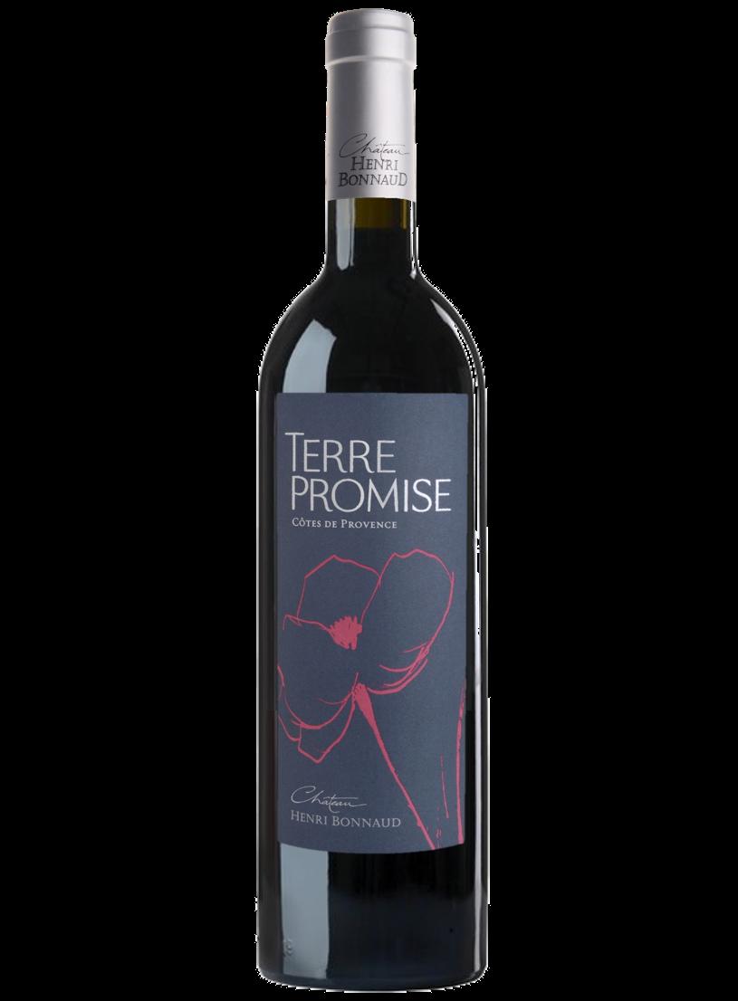 Vin Terre Promise Rouge- AOC Côtes de Provence - Château Henri Bonnaud