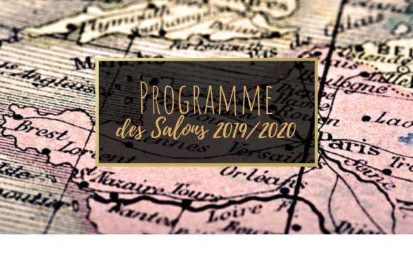 Programme des Salons 2019/2020 - Couverture